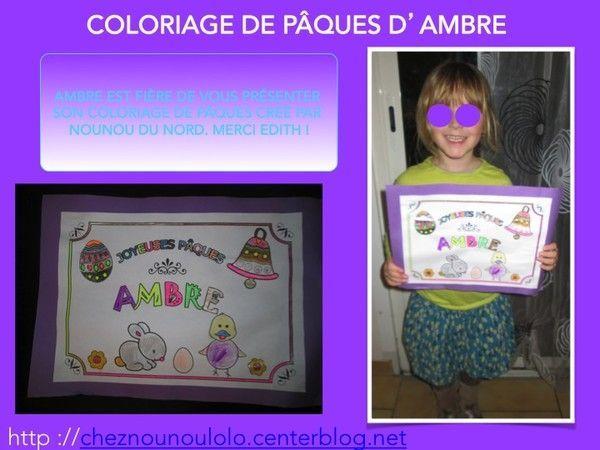 Chez nounou lolo page 61 - Nounou du nord coloriage ...