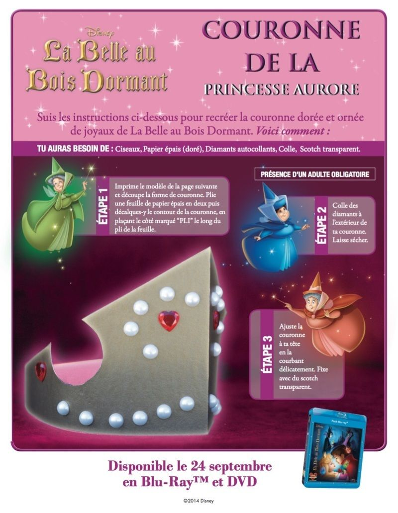 Couronne princesse disney aurore - Couronne princesse disney ...