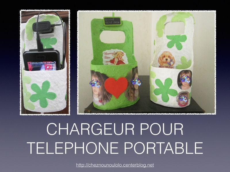 voiture porte telephone portable bricolage f te des p res porte telephone. Black Bedroom Furniture Sets. Home Design Ideas