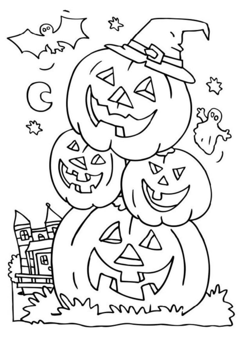 Coloriage halloween - Coloriages d halloween ...