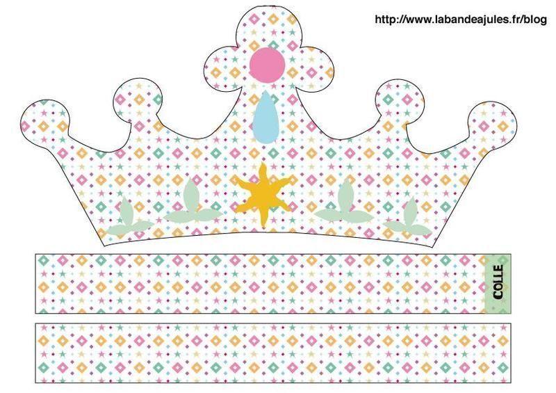 Couronnes pour nos petits rois et reines - Fabrication de couronne de noel ...