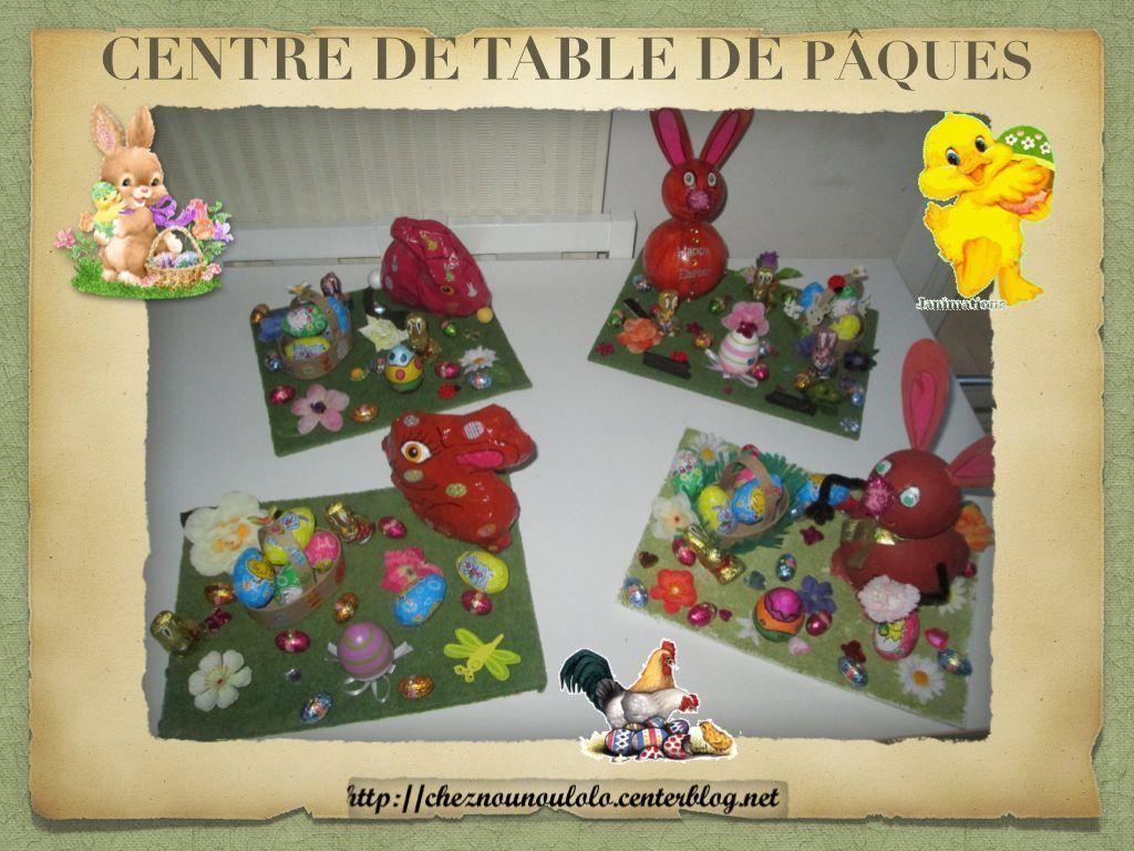 Centre de table de paques - Centre de table pour paques ...