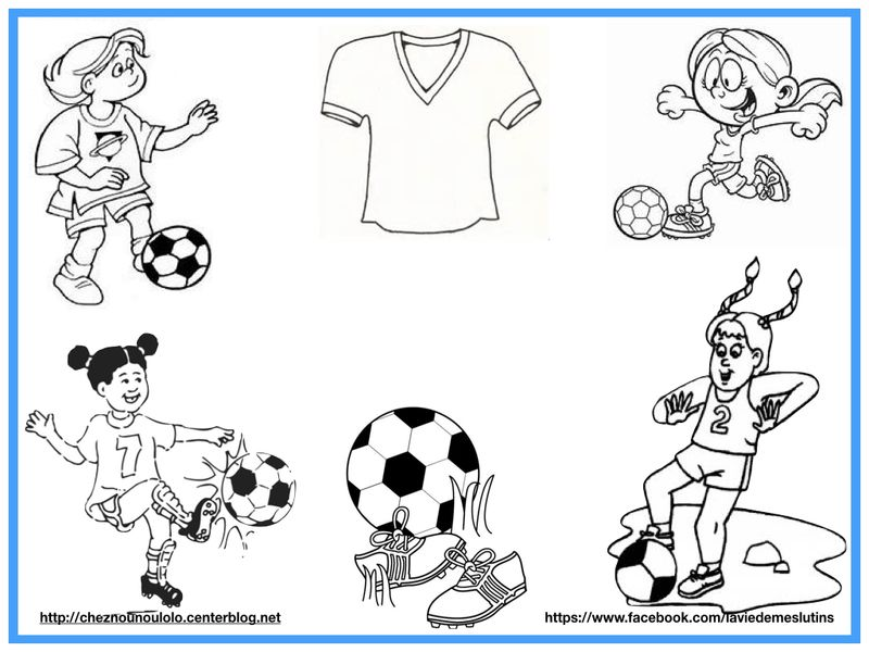 Coloriage Football Fcb.Coloriage Foot