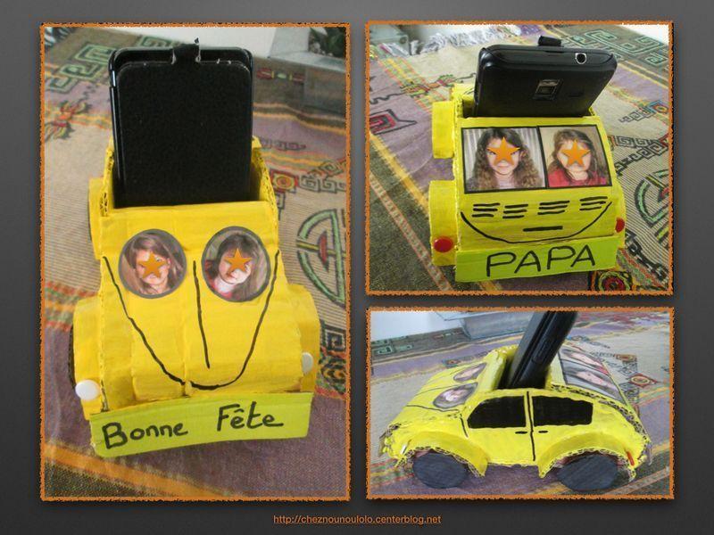 voiture porte telephone portable